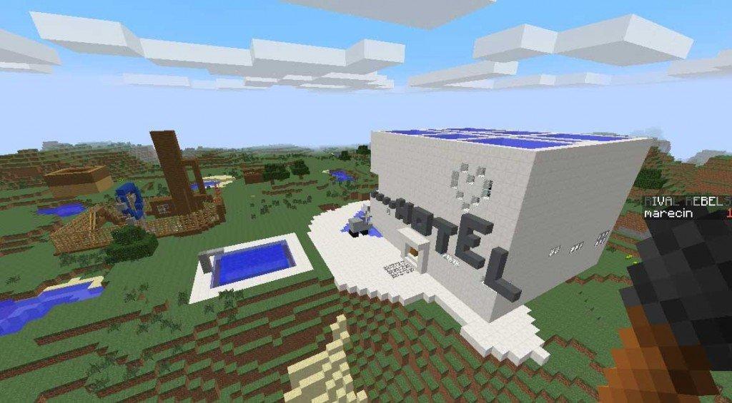 Un Hotel en Minecraft