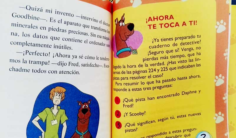 Libro Scooby Doo