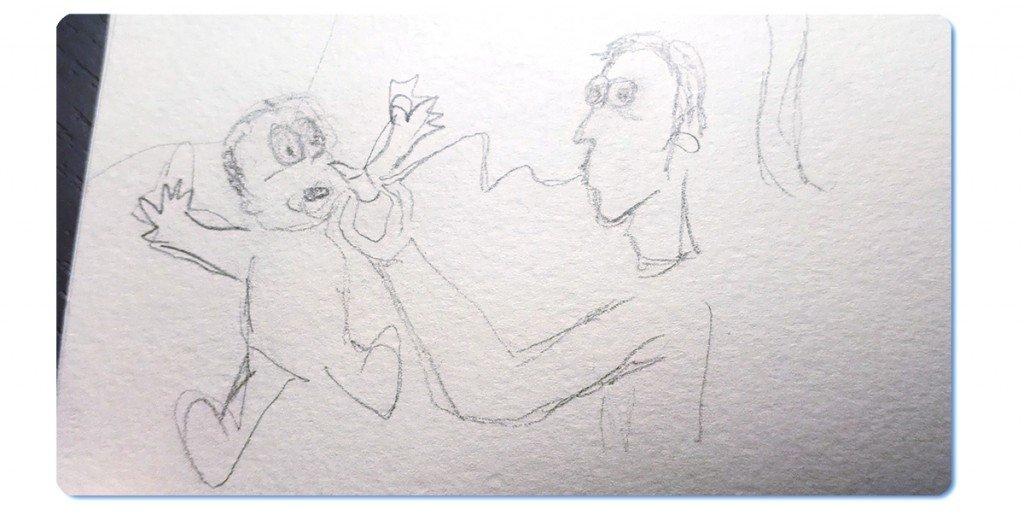 Boceto de Sacamocos