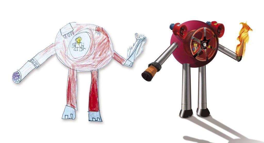 Hacer un robot destructor con tu hijo