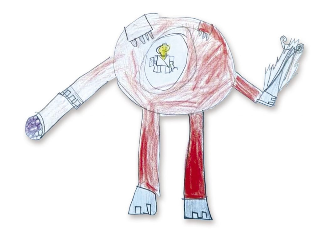 Robot destructor de Leo