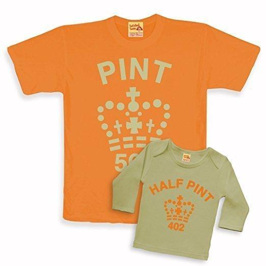 Regalos para padres primerizos: camisetas padres e hijos